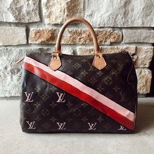 💗Authentic custom Louis Vuitton Speedy 25💗